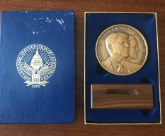 Official 1985 Medal - Original Package