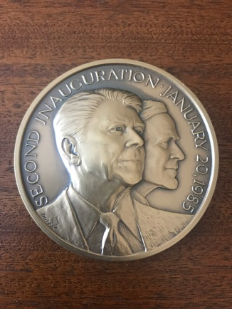 Official 1985 Medal - Obverse