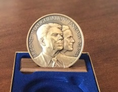 Official 1985 Reagan Inaugural Medal
